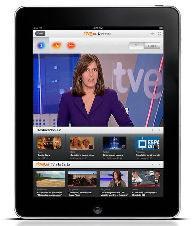RTVE-en-iPad