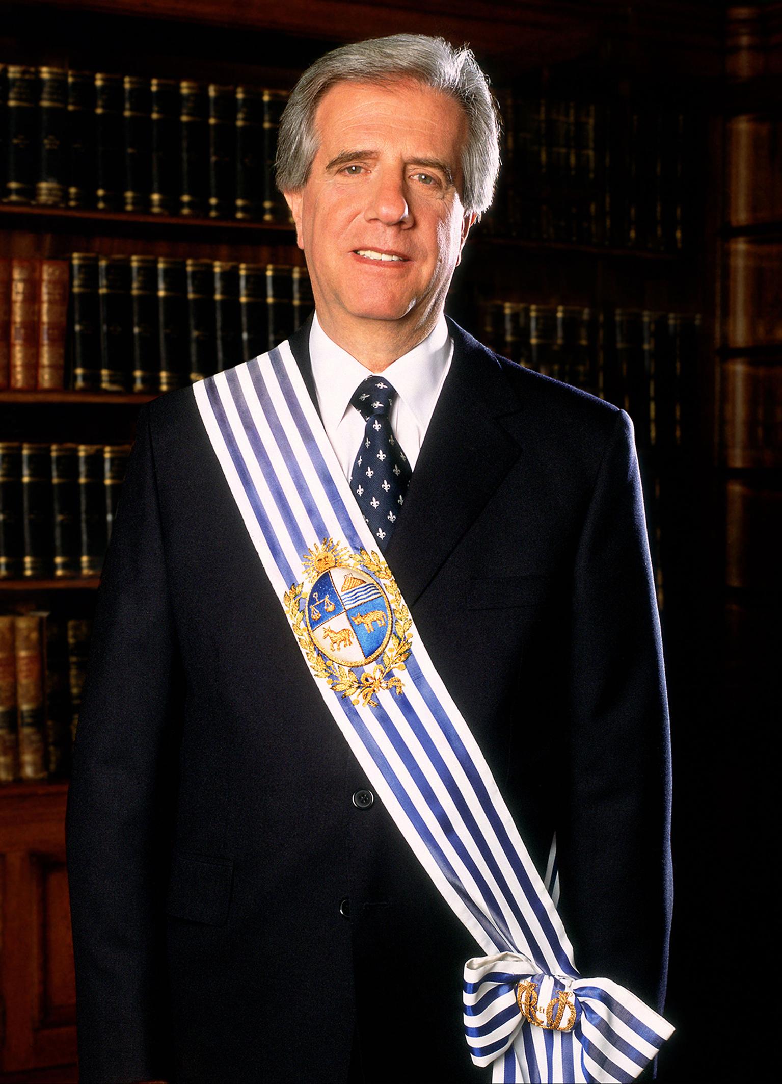 Presidente de la Republica Oriental del Uruguay, Dr. Tabaré Vazq
