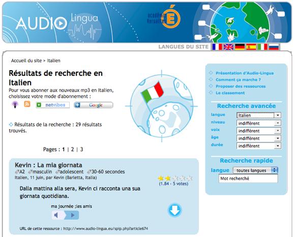 audiolingua