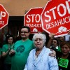Continúa el drama de los desahucios en España